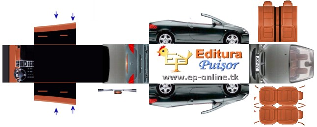 Mercedes Benz Papercraft >> Download Peugeot 307 CC – EPcars – Free Paper Cars
