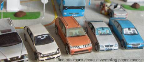 Find out more about assembling EP paper models
